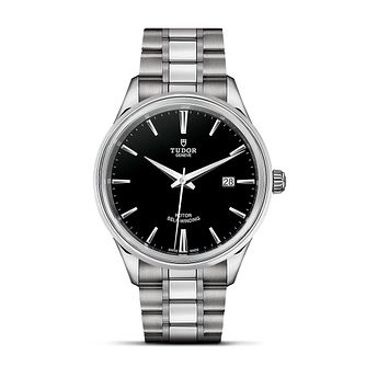 Tudor Style Men's Stainless Steel Bracelet Watch - Product number 2245213
