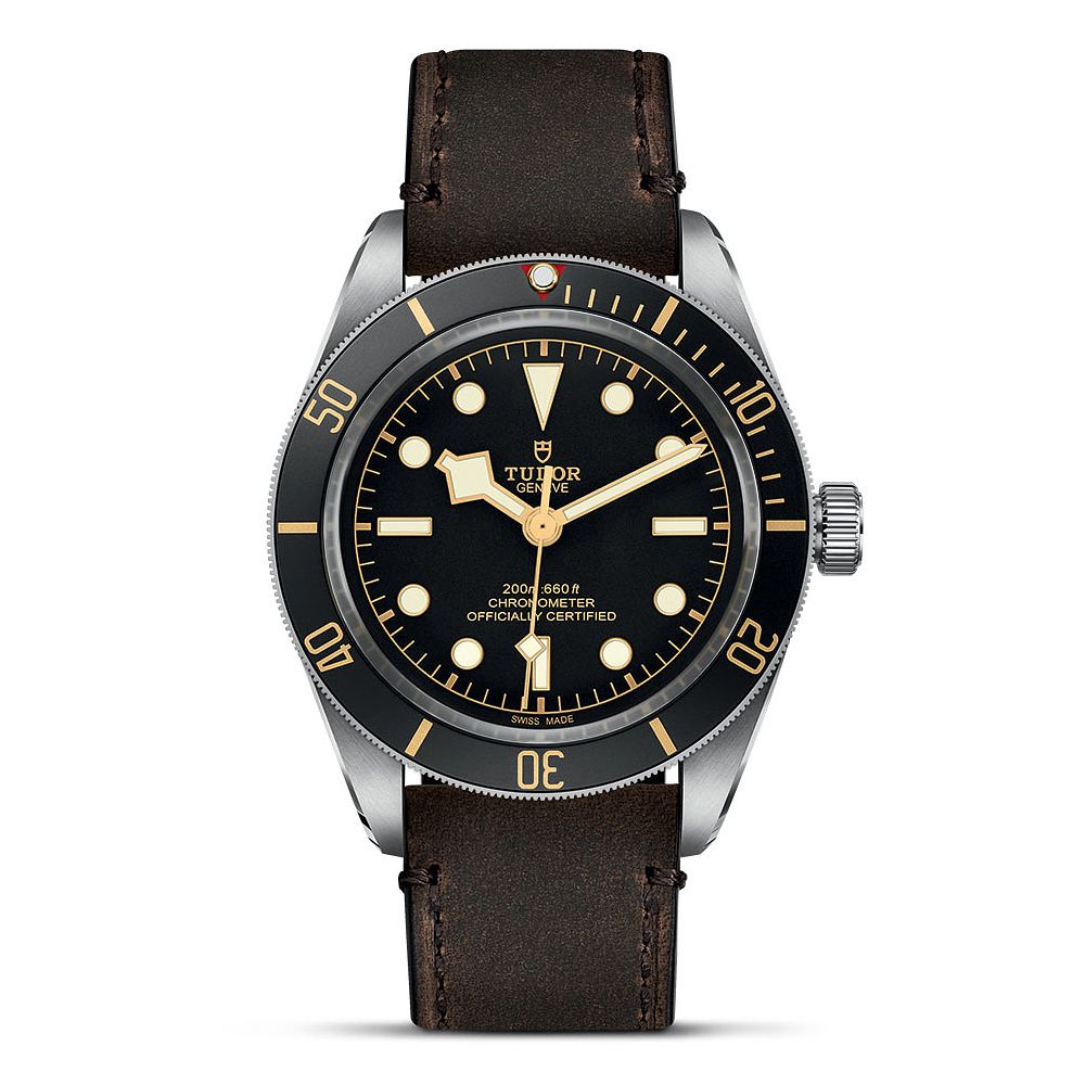 Tudor Black Bay 58 Men's Diver Brown Leather Strap Watch - Product number 2246724