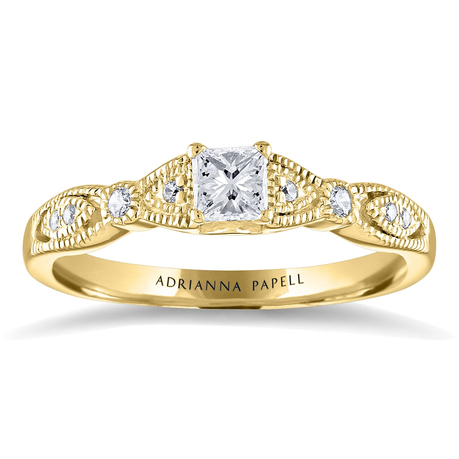 Adrianna Papell 14ct Yellow Gold 0.34ct Diamond - Product number 2249766
