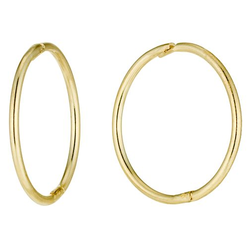 d83f620e76ad 9ct Gold Sleeper Earrings - Product number 2255952