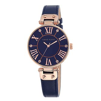 Anne Klein Ladies' Rose Gold Tone Swarovski Elements Watch - Product number 2258323