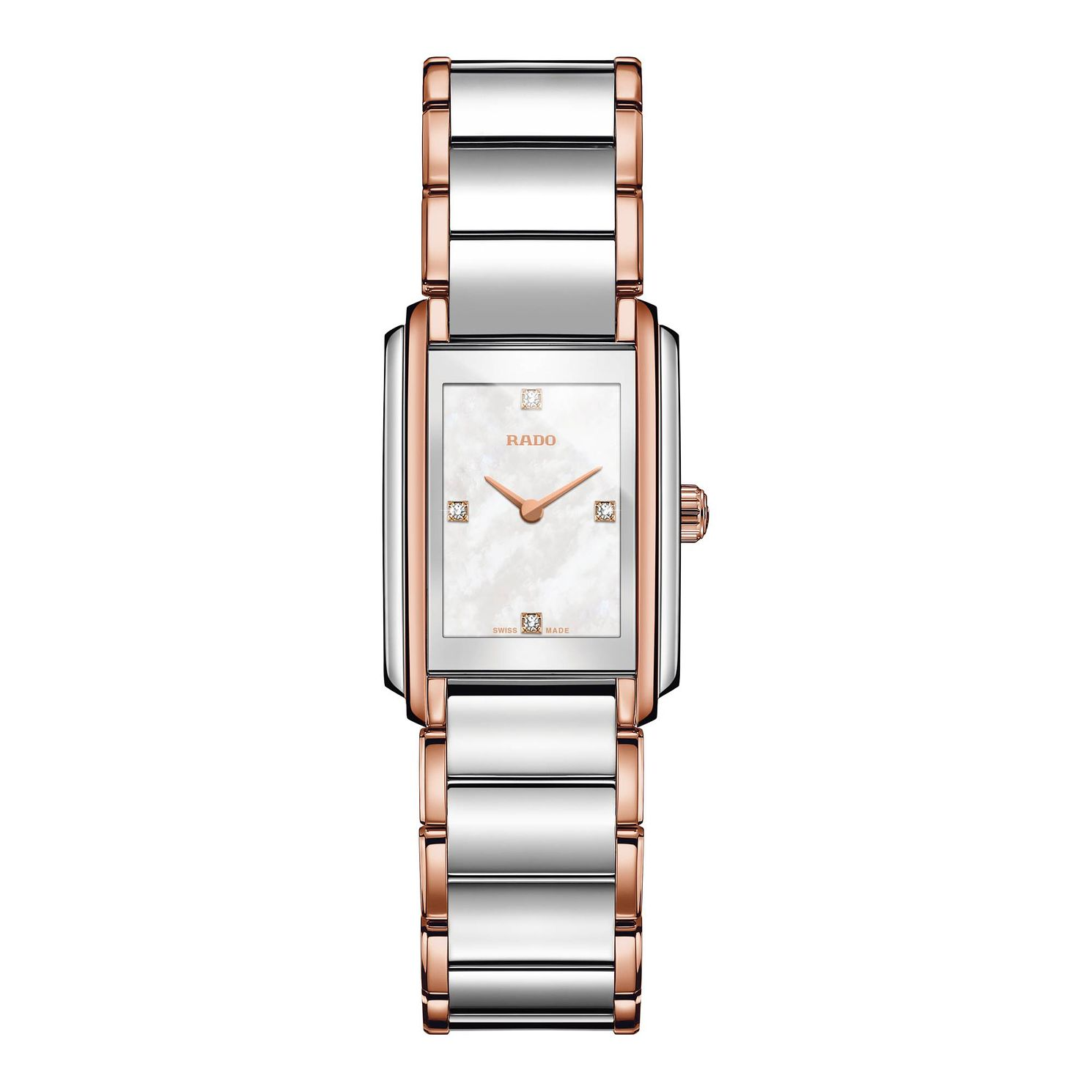 Rado Integral Ladies' Two Tone Bracelet Watch - Product number 2258617