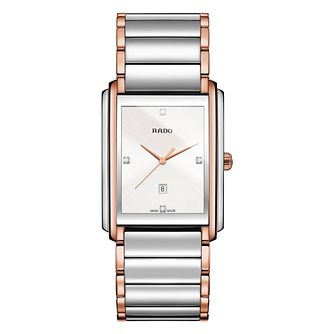 Rado Integral Men's Two Tone Bracelet Watch - Product number 2258625