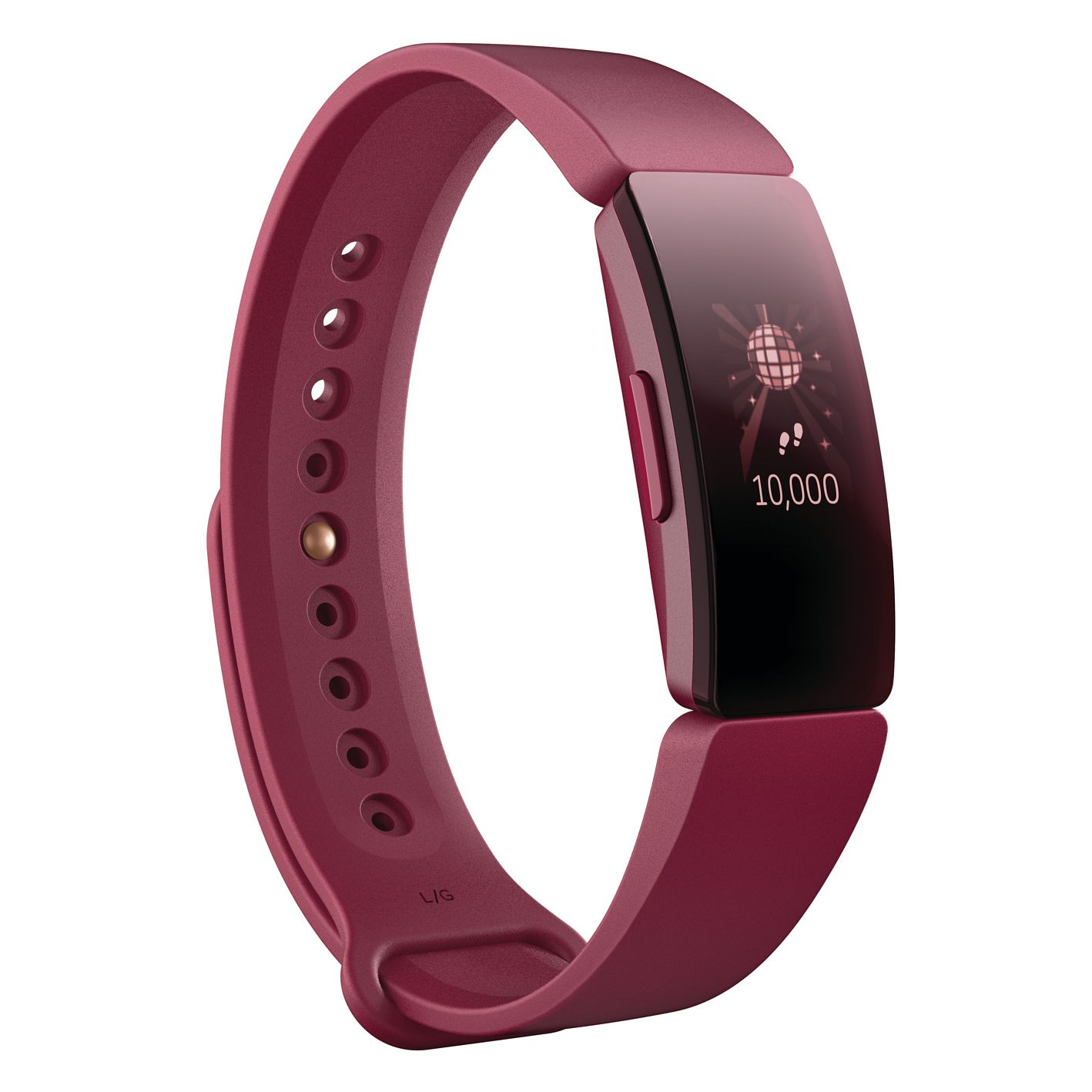 Fitbit Inspire Sangria Silicone Fitness Tracker - Product number 2266202