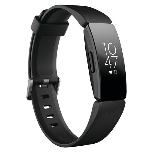 Fitbit Inspire HR Black Silicone Strap Fitness Tracker - Product number 2266210
