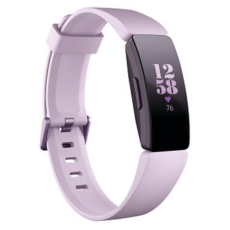 Fitbit Inspire HR Lilac Silicone Fitness Tracker - Product number 2266237