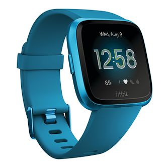 Fitbit Versa Lite Marina Blue Silicone Smart Watch - Product number 2266407