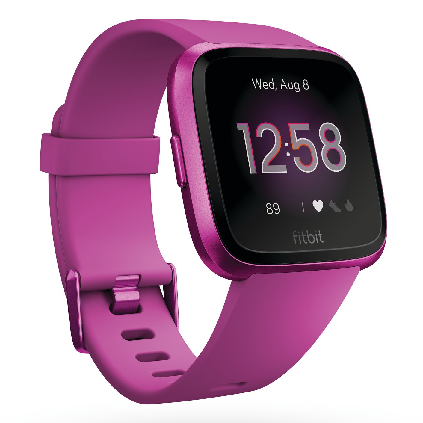 Fitbit Versa Lite Mulberry Silicone Smart Watch - Product number 2266423