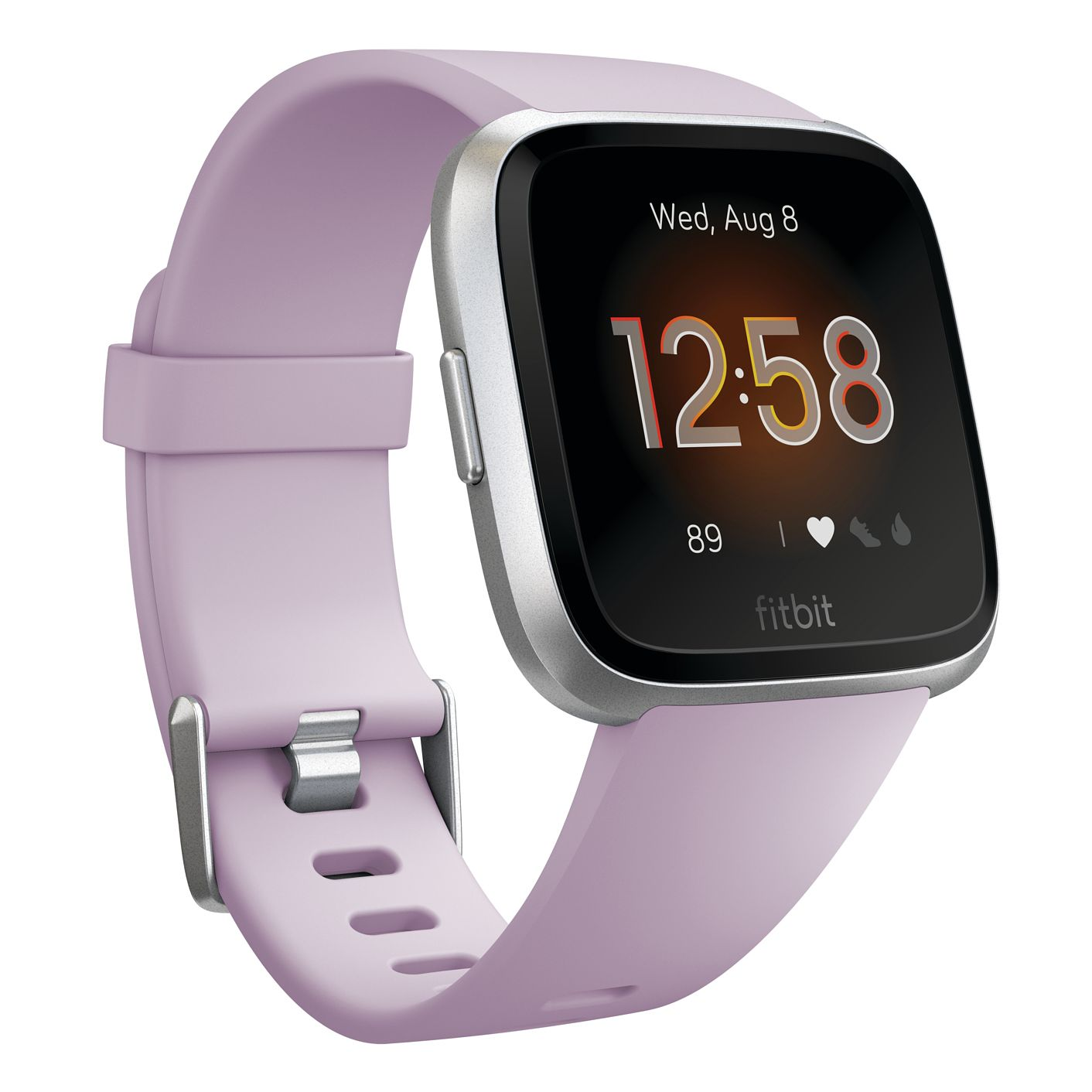 Fitbit Versa Lite Lilac Silicone Strap Smart Watch - Product number 2266466