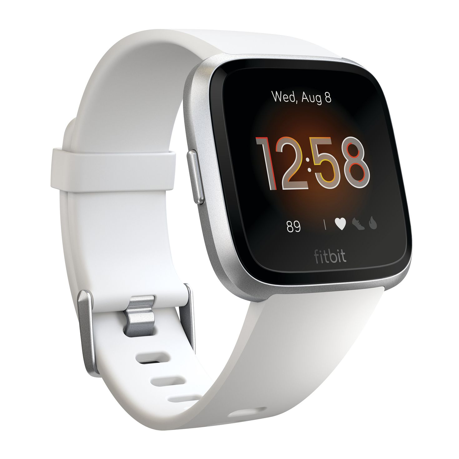 Fitbit Versa Lite White Silicone Strap Smart Watch - Product number 2266474