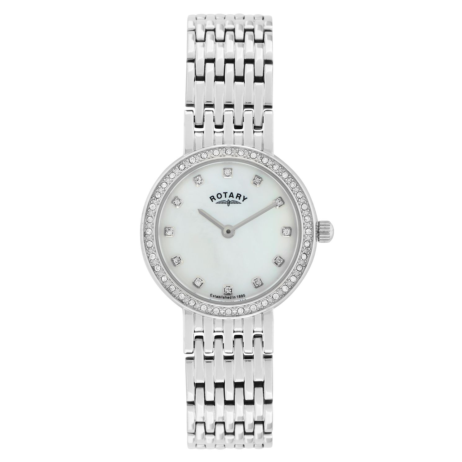 Rotary Ladies' Mother of Pearl Stainless Steel Watch - Product number 2268167