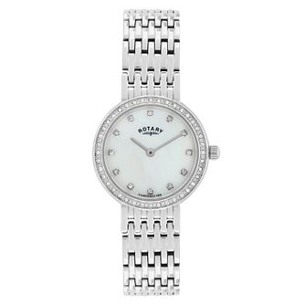 660b657205cc Rotary Ladies  Mother of Pearl Stainless Steel Watch - Product number  2268167