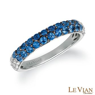 Le Vian 14ct Vanilla Gold Denim Sapphire Ombre Ring - Product number 2269414