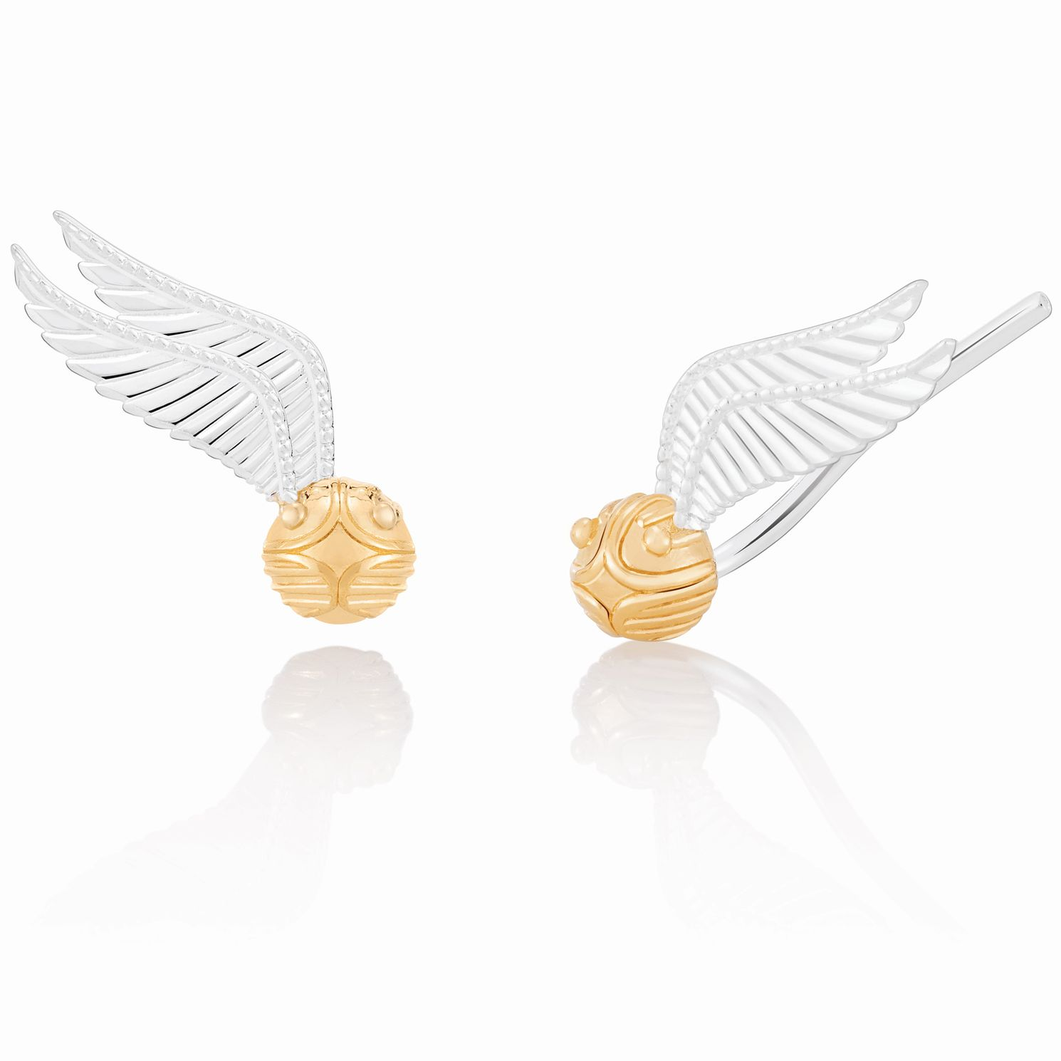 Chamilia Harry Potter Gold Electroplated Snitch Earrings - Product number 2286467