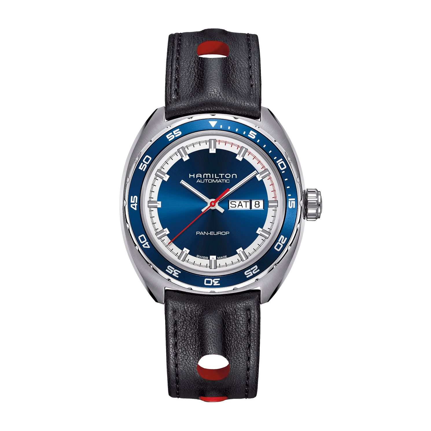 Hamilton Pan Europ Men's Automatic Strap Watch - Product number 2287137