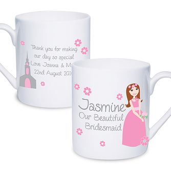 Personalised Beautiful Bridesmaid Mug - Product number 2288052