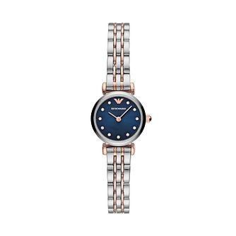 Emporio Armani Ladies' Two Tone Bracelet Watch - Product number 2293714