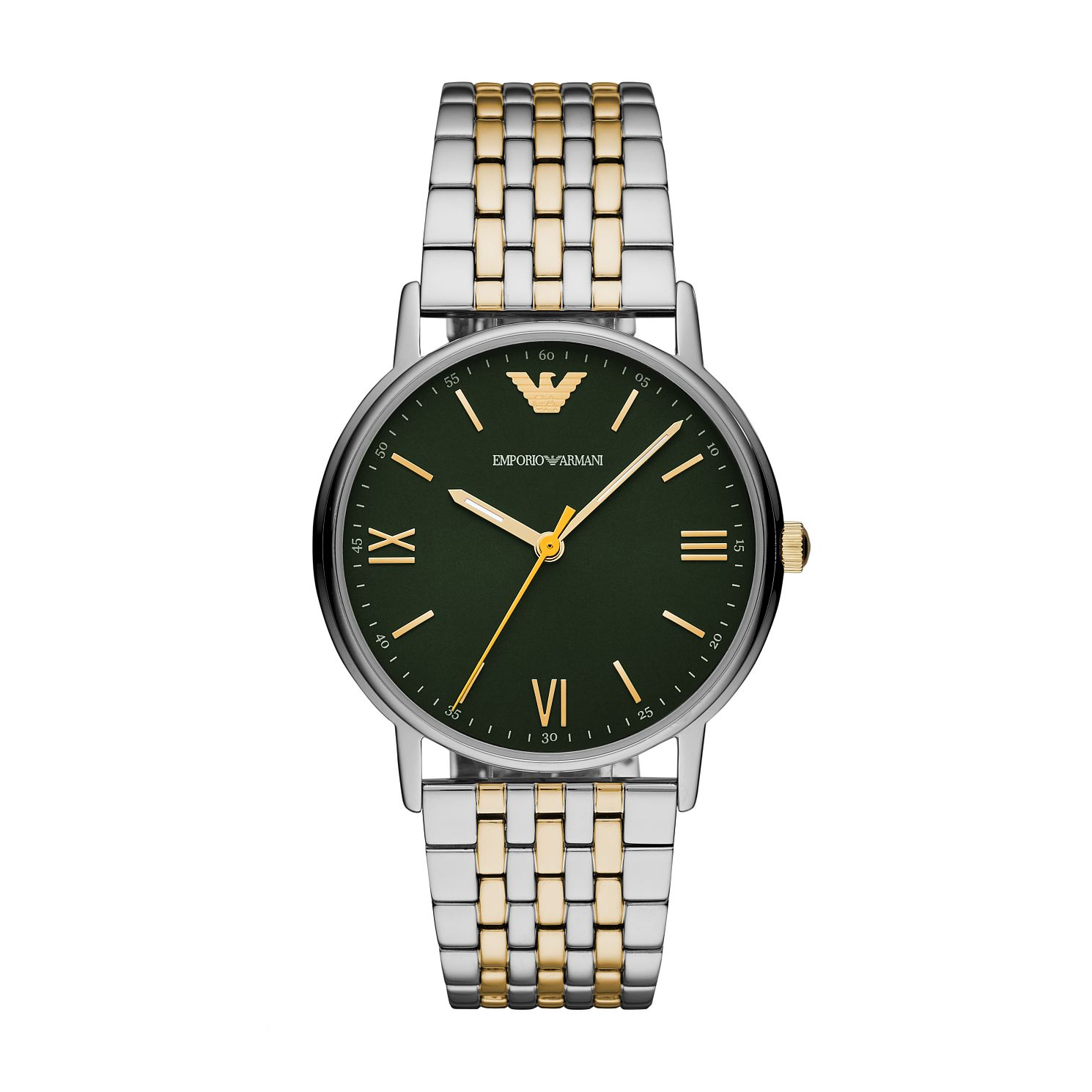 Emporio Armani Men's Two Tone Bracelet Watch - Product number 2293943