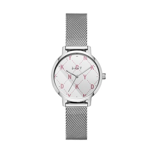DKNY Modernist Ladies' Stainless Steel Mesh Bracelet Watch - Product number 2294230