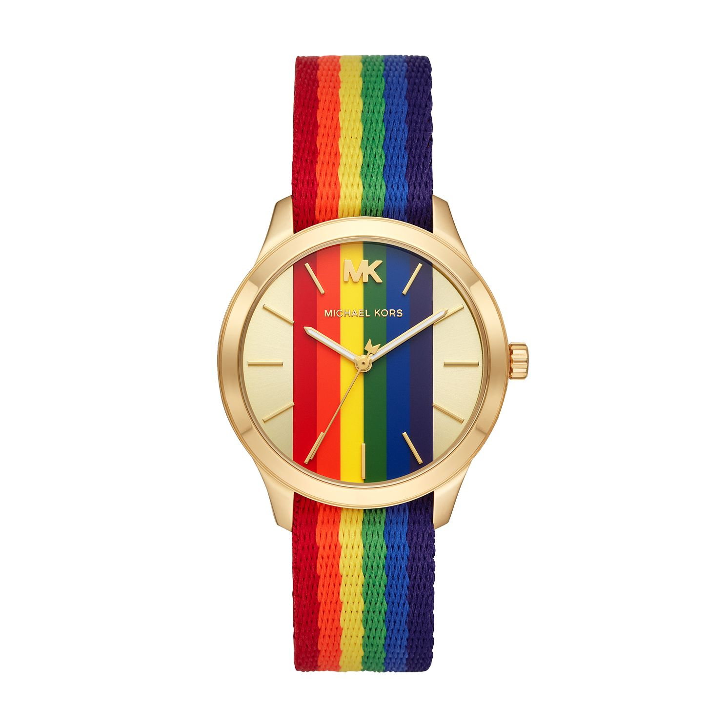 Michael Kors Runway Rainbow Strap Watch - Product number 2295636