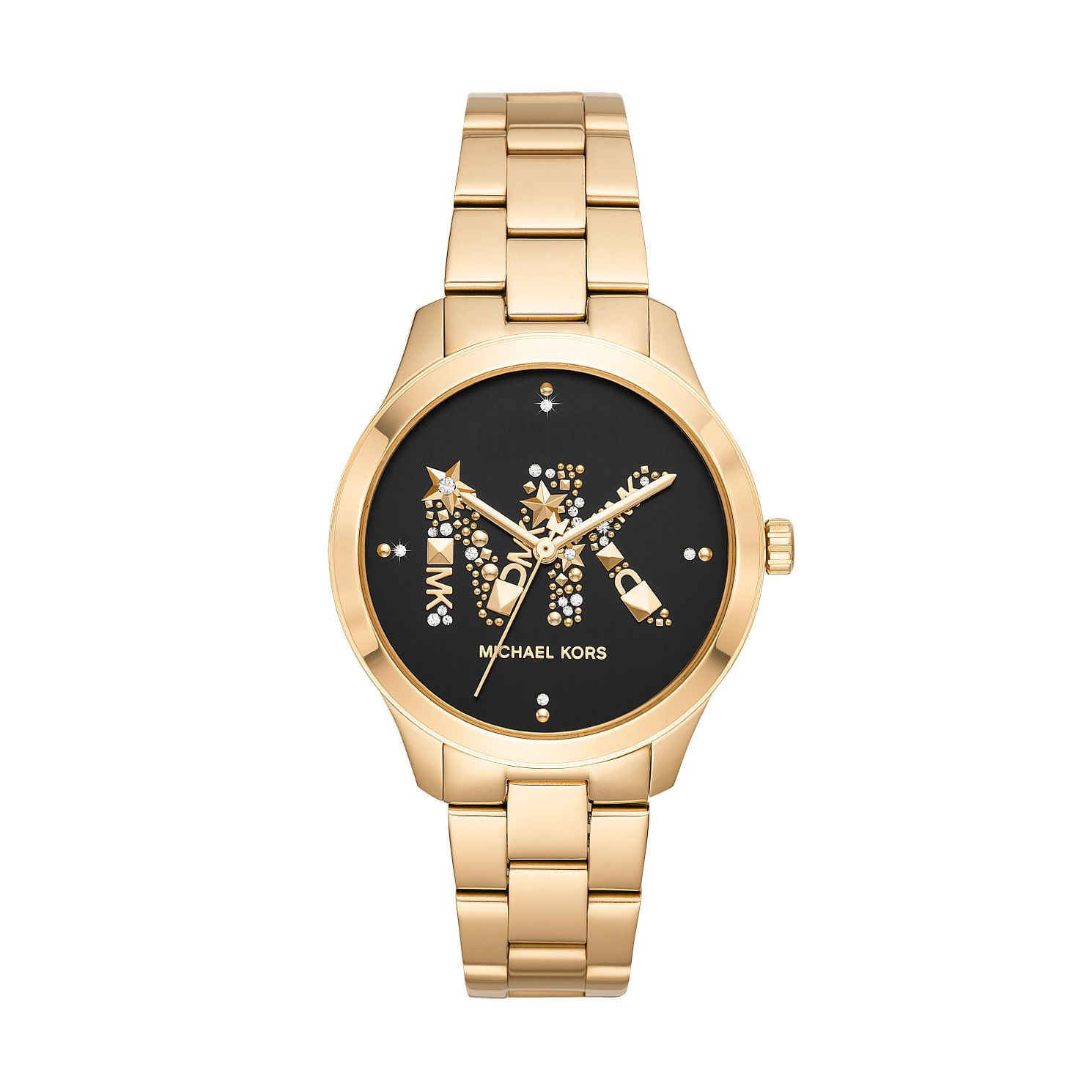 Michael Kors Runway Ladies' Yellow Gold Tone Bracelet Watch - Product number 2295660