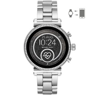 Michael Kors Sofie HR Gen 4 Stainless Steel Smartwatch - Product number 2295806