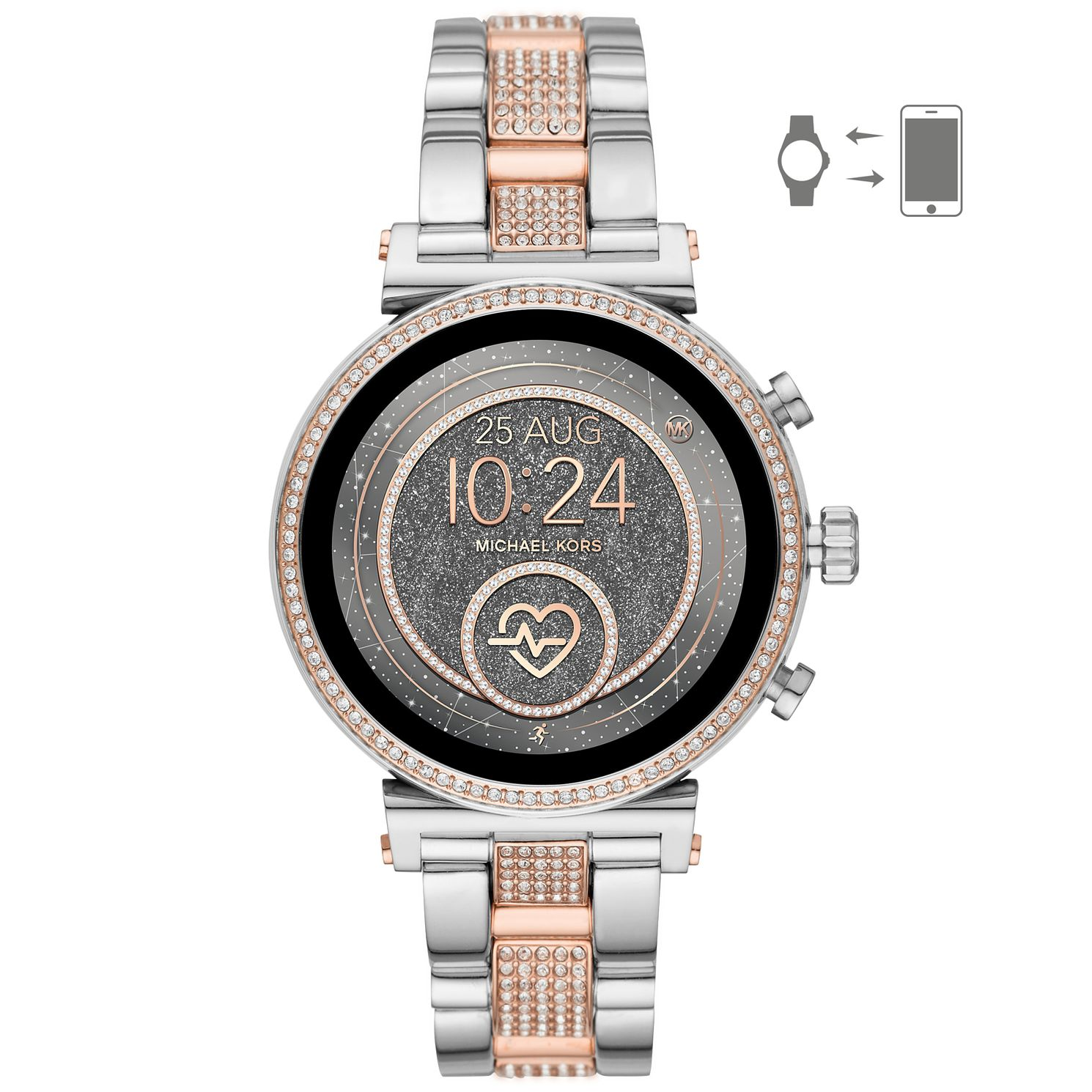 Michael Kors Sofie HR Gen 4 Two-Tone Bracelet SmartWatch - Product number 2295849
