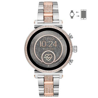 Michael Kors Access Sofie Gen 4 Two-Tone Bracelet Watch - Product number 2295849
