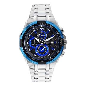 Casio Edifice Men's Stainless Steel & Blue Dial Watch - Product number 2302217