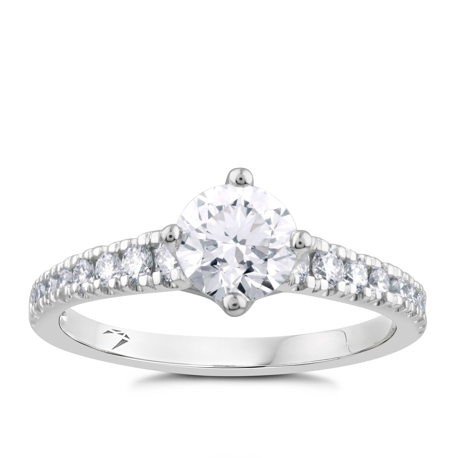 Arctic Light 18ct White Gold 1ct Diamond Ring - Product number 2304945
