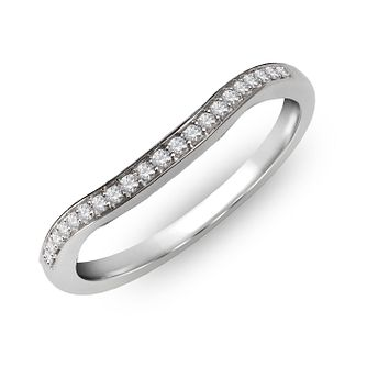 18ct White Gold & Diamond Perfect Fit Eternity Ring - Product number 2310139