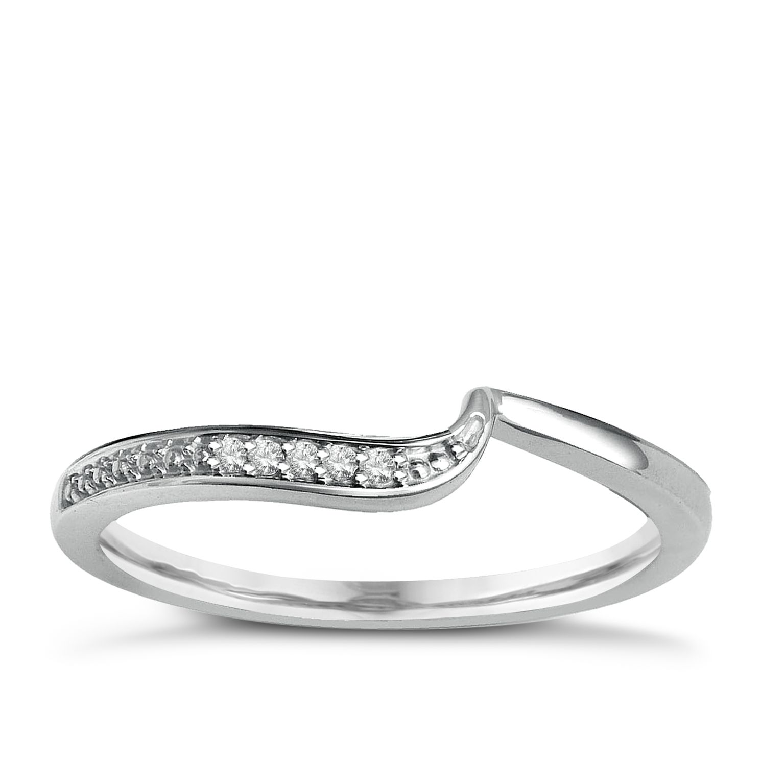 Perfect Fit 9ct White Gold With Diamond Eternity Ring - Product number 2310481