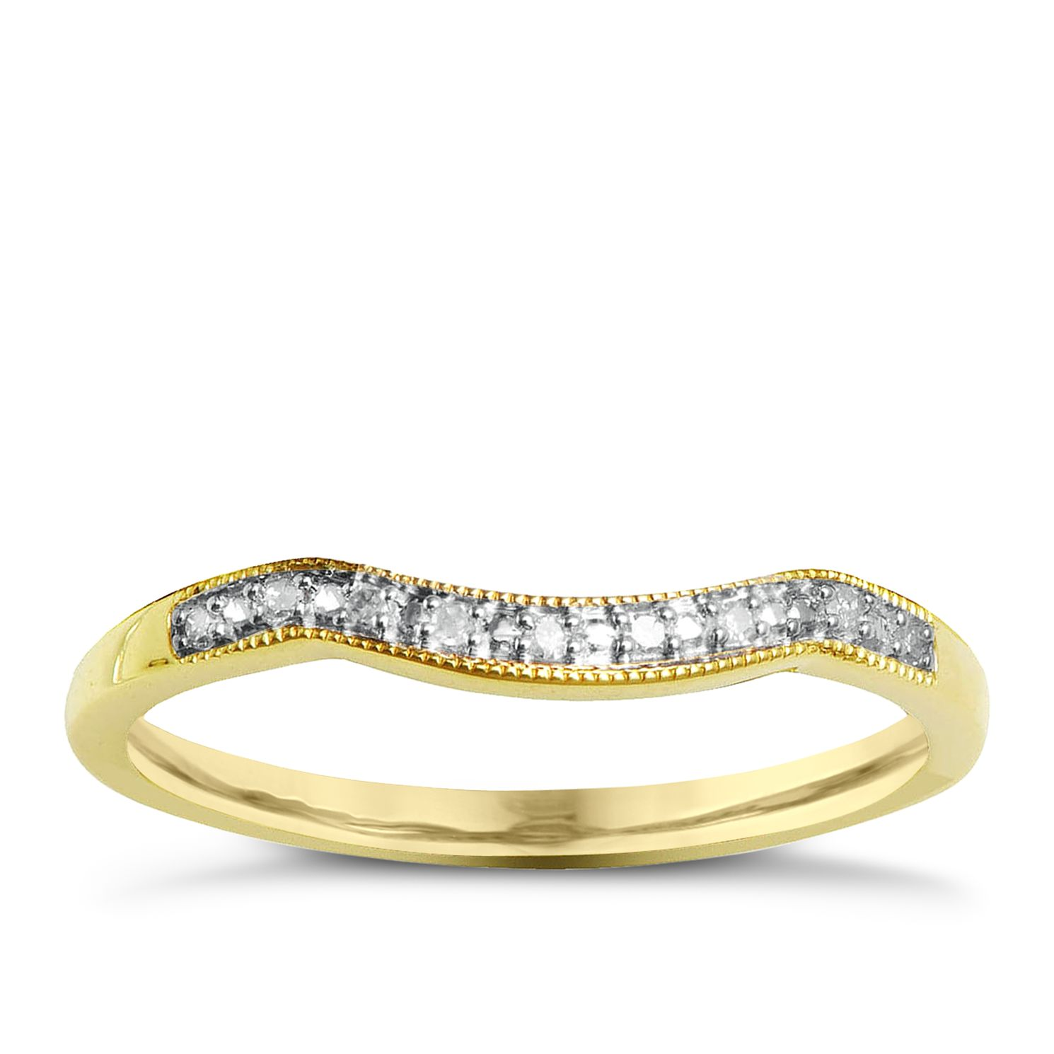 Perfect Fit 9ct Yellow Gold And Diamond Eternity Ring - Product number 2310759