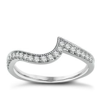 Perfect Fit 9ct White Gold Plus Diamond Eternity Ring - Product number 2311011