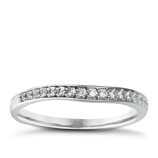 Palladium & Diamond Perfect Fit Eternity Ring - Product number 2311836