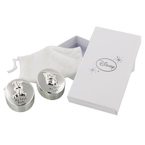 Disney Christening Silver Plated Pooh Bear Tooth & Curl Set - Product number 2320908