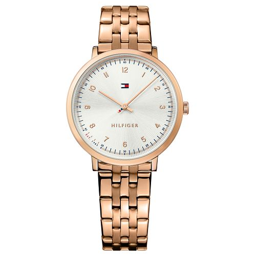 Tommy Hilfiger Sloane Ladies' Rose Gold Tone Bracelet Watch - Product number 2322889