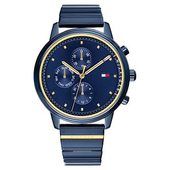 Tommy Hilfiger Blake Ladies' Blue Ip Bracelet Watch - Product number 2323109