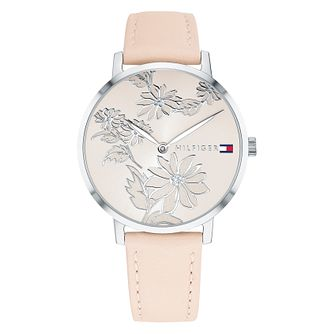 Tommy Hilfiger Pippa Ladies' Blush Leather Strap Watch - Product number 2323184