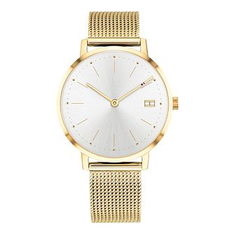 Tommy Hilfiger Pippa Ladies' Gold Plated Bracelet Watch - Product number 2323257