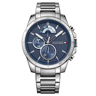 Tommy Hilfiger Decker Men's Stainless Steel Bracelet Watch - Product number 2323877