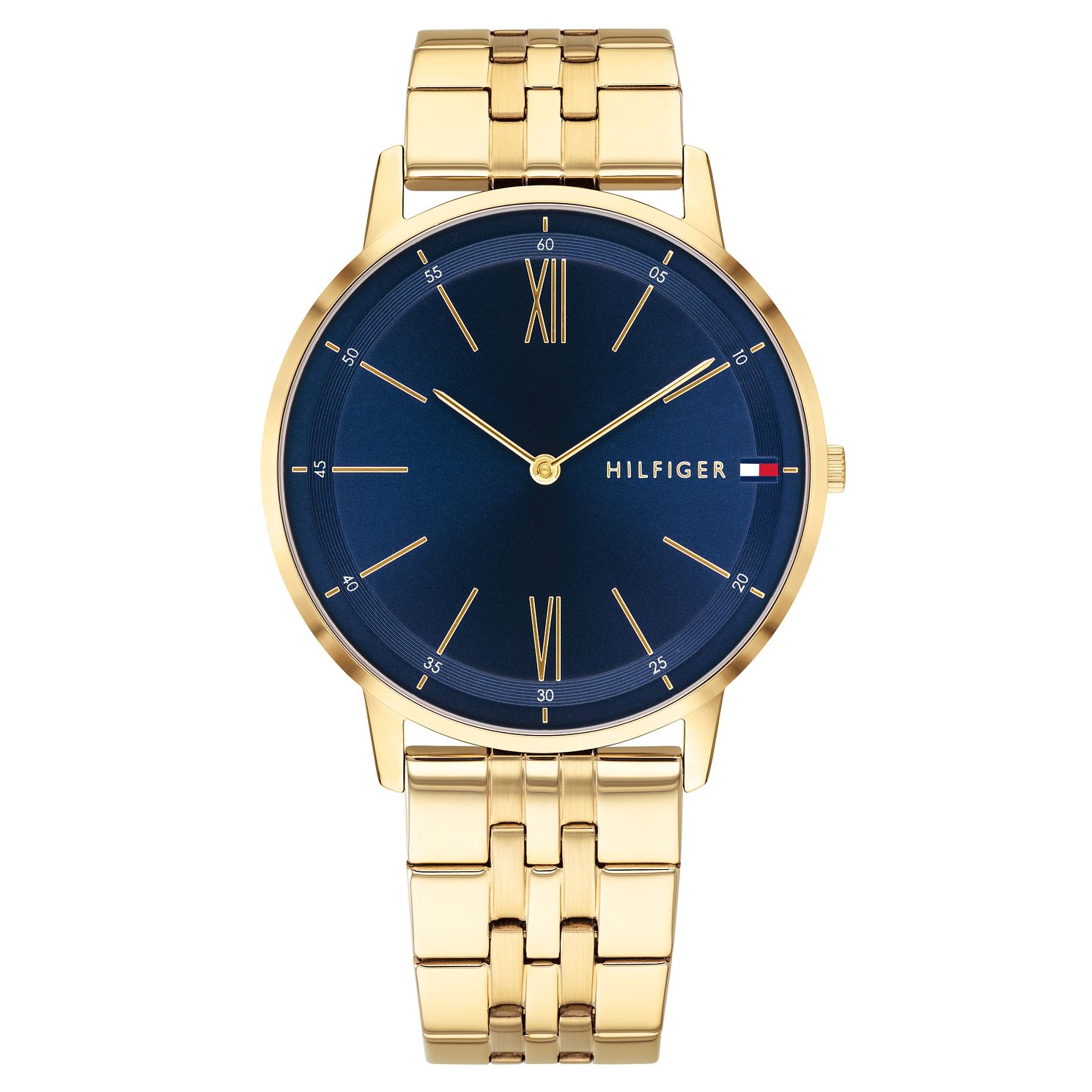 Tommy Hilfiger Cooper Men's Gold Plated Bracelet Watch - Product number 2325039
