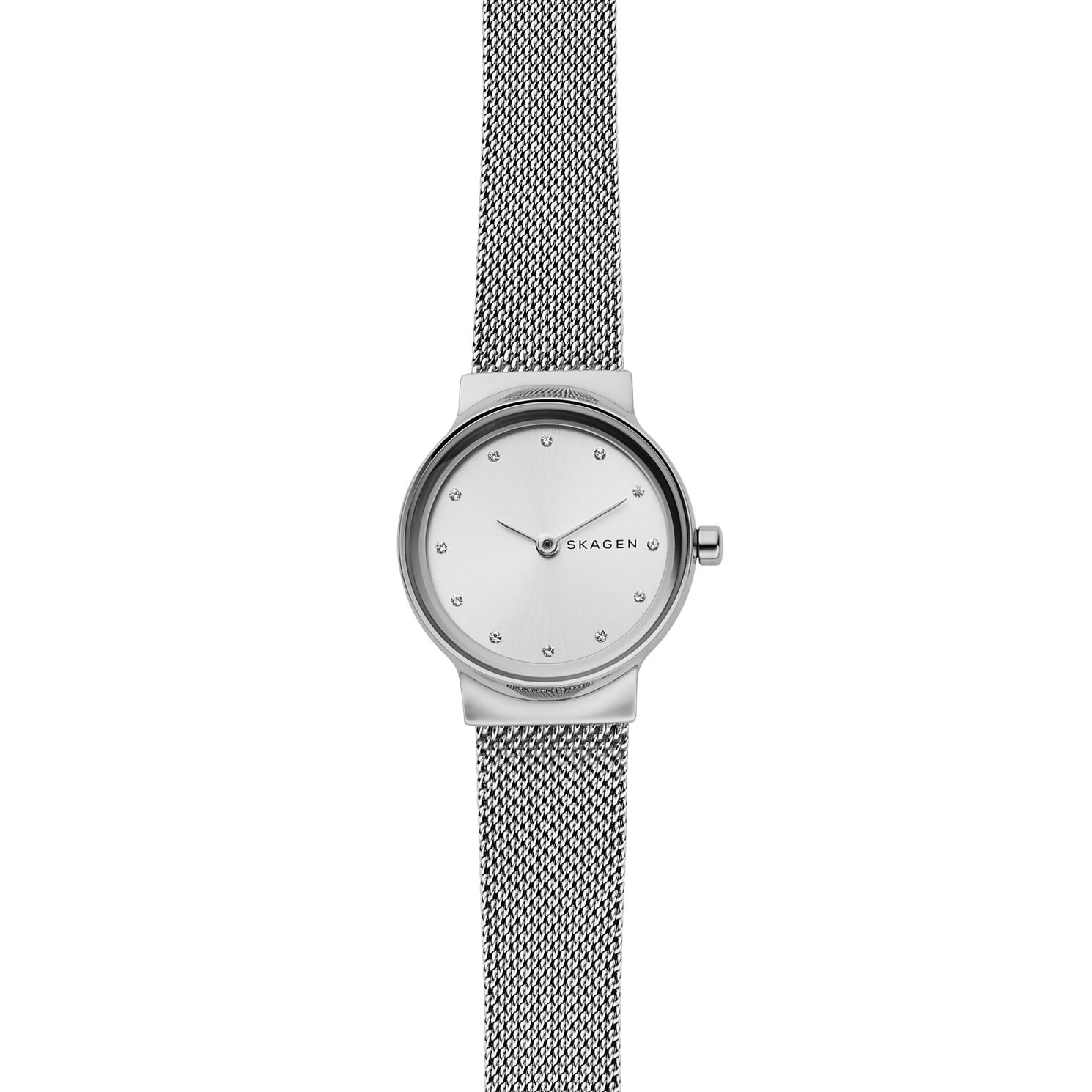 Skagen Freja Ladies' Stainless Steel Mesh Bracelet Watch - Product number 2328119