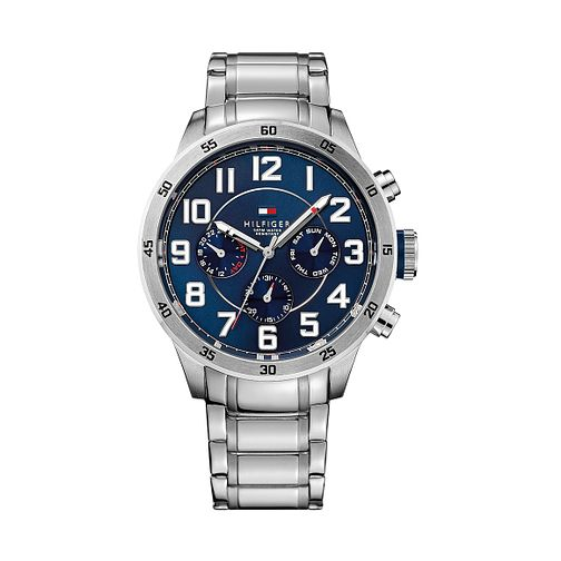 59f7723f Tommy Hilfiger Men's Navy Blue Dial Stainless Steel Watch - Product number  2329069