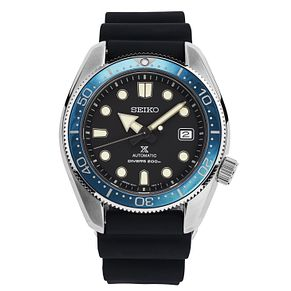 Seiko Prospex Men's Black Silicone Strap Watch - Product number 2330733
