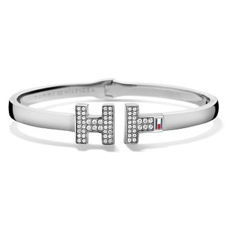 Tommy Hilfiger Stainless Steel & Crystal Set Th Bangle - Product number 2330768