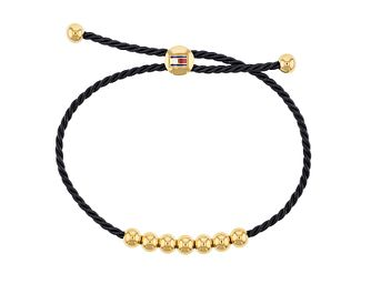 Tommy Hilfiger Ladies' Beaded Navy Cord Bracelet - Product number 2330814