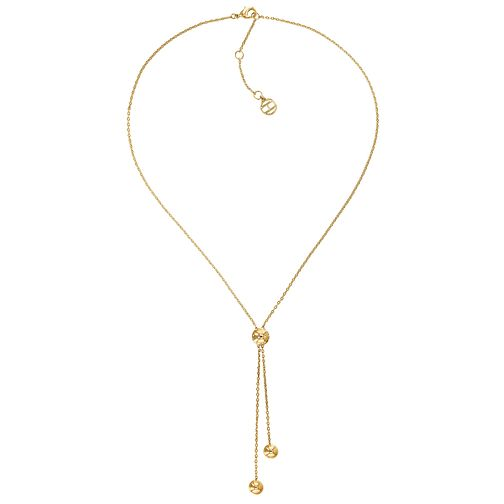 Tommy Hilfiger Ladies' Gold Plated Bead Neckalce - Product number 2331055