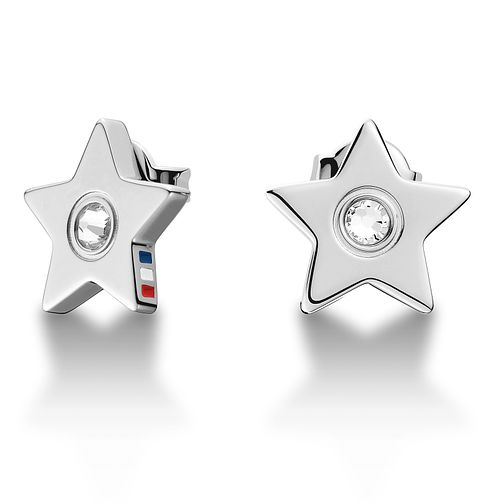Tommy Hilfiger Ladies' Stainless Steel Star Stud Earrings - Product number 2331195