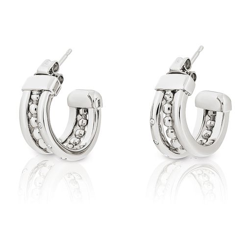 Tommy Hilfiger Ladies' Stack Huggie Earrings - Product number 2331225
